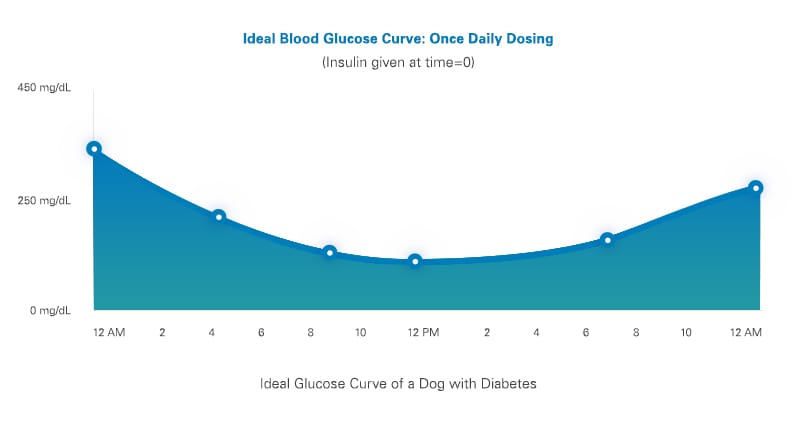 glucose curves for dogs